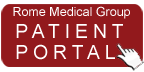 Rome Medical Group Patient Portal Button